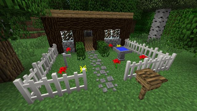 Скачать Furniture Mod для minecraft 1.7.10