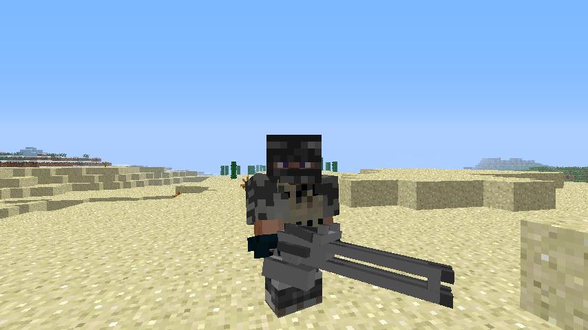 Скачать мод на Майнкрафт 1.7.10 на оружие из ГТА 5